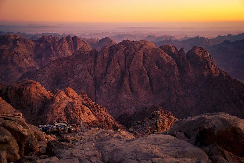 Mount Moses - Nơi hành hương của tín đồ Kito giáo