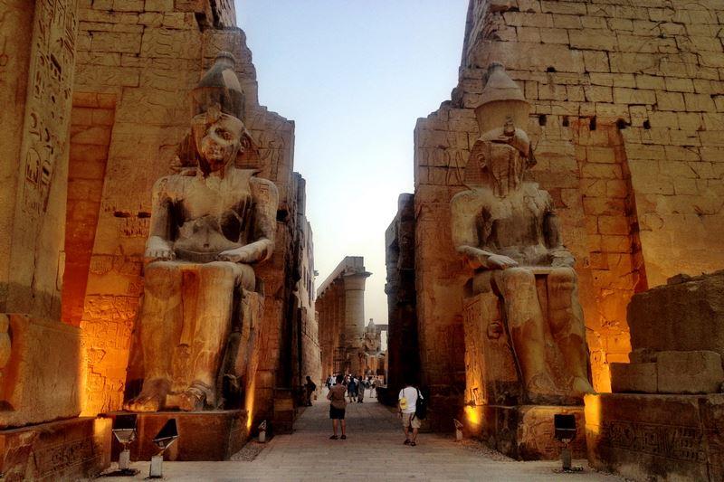 Bảo tàng ngoài trời lớn nhất thế giới tại Luxor