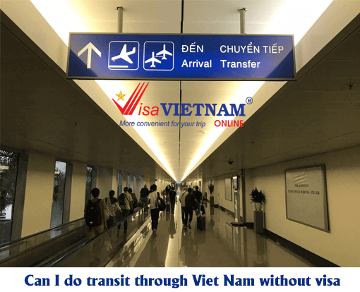 Vietnam transit visa for Egyptian travelers