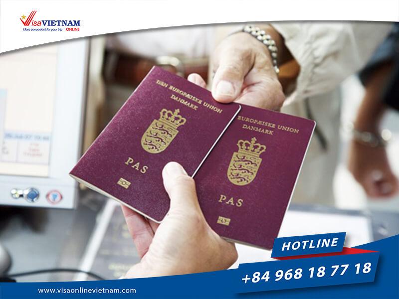 How to apply Vietnam Visa on Arrival in Denmark?