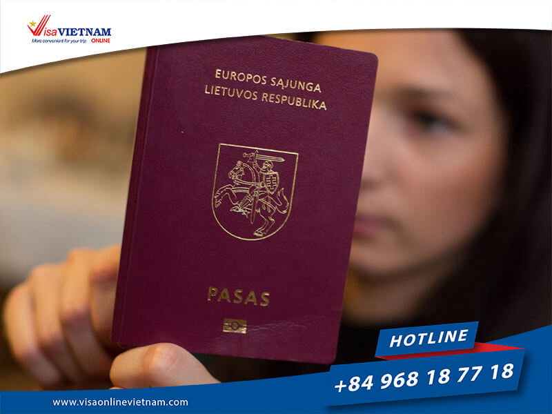 How to get Vietnam visa on arrival from Lithuania?