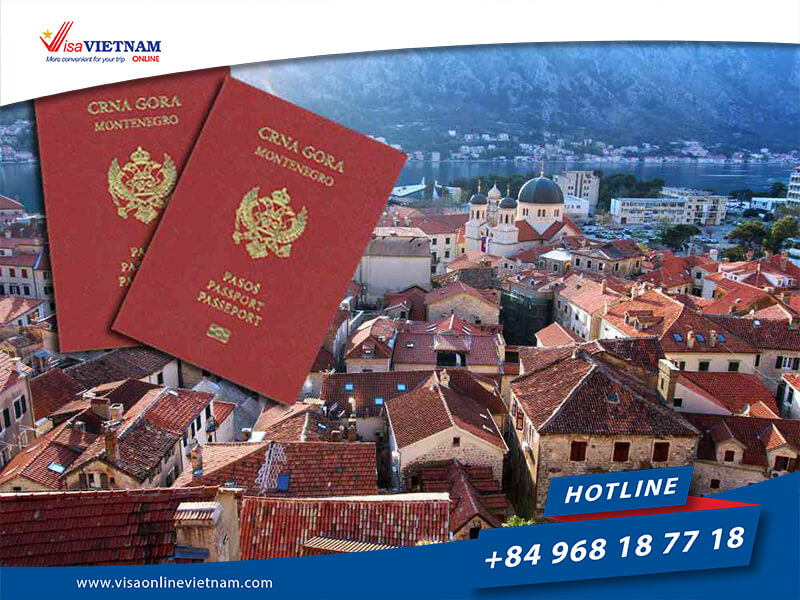 How to apply for Vietnam visa on Arrival in Montenegro?