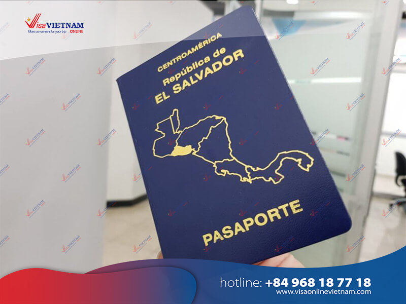 Way to get Vietnam visa on arrival from El Salvador
