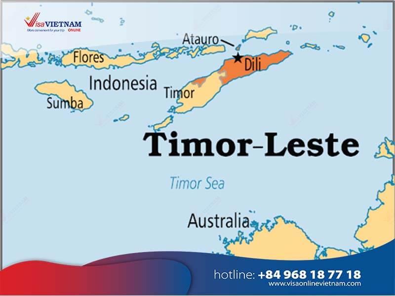 How to get Vietnam visa from Timor-Leste? - Visto vietnamita em Timor-Leste